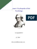 Dr. Mezmer's Psychopedia of Bad Psychology