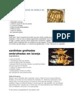 receitas de sardinhas