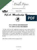 PCA Summer 2013 Newsletter