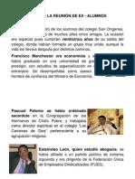 CASO DE LA REUNIÓN DE EX