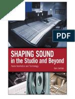 ShapingSoundintheStudioandBeyondAudioAestheticsandChapter12SoundDesign