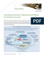 Socializing Solutions