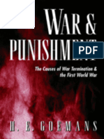 War and Punishment: The Causes of War Termination and the First World War by H.E. Goemans