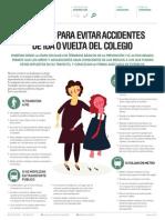 Consejos Para Evitar Accidentes de Ida o Vuelta Del Colegio