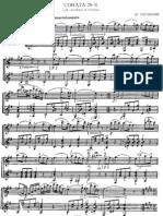 Sonata para violin y guitarra op.3 n°6 de Paganini