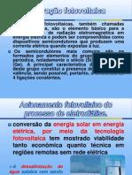 Acionamento fotovoltaico do processo de eletrodiálise