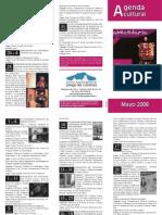 2008-05 Actos  2 Congreso Espeleo Andalucía Priego Agenda Cultural