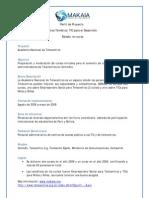 Makaia Perfiles de Proyectos TIC Para El Desarrollo 2007 2009
