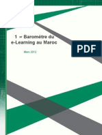 1er Baromètre du e-Learning au Maroc - Mars 2012 final comp2