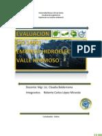 Evalucacion ISO 14001 Empresa Hidroelectrica