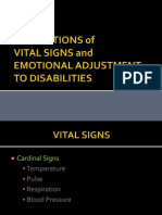 OT6 - Vital Signs and Eval of Emotional Edjustment