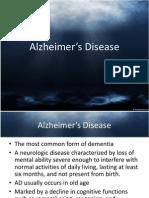 OT6- Alzheimer's Disease