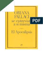 Oriana Fallaci - Apocalipsis Oriana Fallaci Se Entrevista a Si Misma