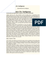 Antecedentes de Antigona