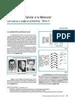 De la patología celular a la molecular