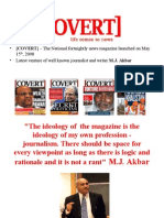 COVERT Presentation