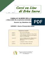 Cabala e Albero Della Vita