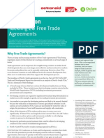 EU Free Trade Agreements Manual