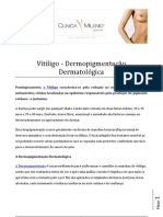 Vitiligo - Dermopigmentação Dermatológica