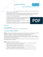 Principios Organizativos e Estatutos de Anova