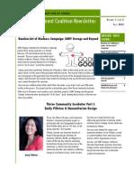 Newsletter - Fall 2013