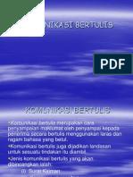 Copy of Komunikasi Bertulis