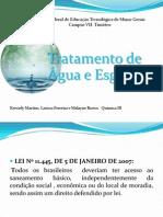Editado Tratamento de água e esgoto