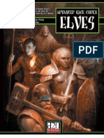 Advanced Race Codex - Elves