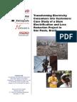 Slum Electrification and Loss Reduction Brazil Case Study