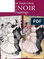 Dover - Color Your Own Renoir Paintings