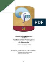 Fundamentos Psicologicos Da Educacao Parte1 15jul2013