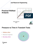 Lecture 2-B Practical Welltest Analysis