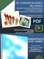 Administración del cambio - Conceptos básicos sobre desarrollo organizacional