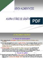 Curs an III Alimentatie, Saliva Platforma