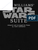 John Williams - Star Wars Symphonic Suite (PIANO Reduction)