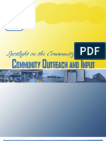 Community Outreach Report
