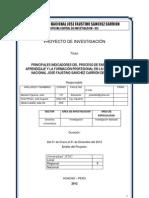 PRINCIPALES INDICADORES DEL PROCESO DE ENSEÑANZA-APRENDIZAJE Y LA FORMACIÓN PROFESIONAL EN LA UNIVERSIDAD NACIONAL JOSÉ FAUSTINO SÁNCHEZ CARRIÓN DE HUACHO