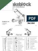 Makeblock Beer Robot Instruction