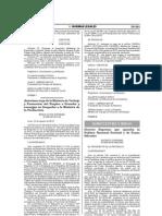 Politica Forestal Nacional 2013