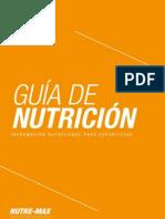 Guia de Nutricion Para Deportistas