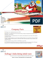 Kelloggs marketing report