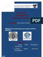 Clasificacion Aashto Astm