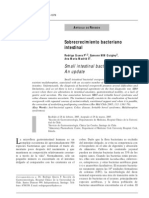 Sobrecrecimiento Bacteriano Intestinal