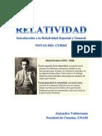 b2 Notas Del Curso de Relatividad 14082013