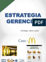 ESTRATEGIAS GEERENCIAL