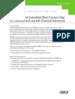 Ground Granulated Blast-Furnace Slag ASTM C 989 PDF