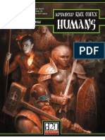 Advanced Race Codex - Humans