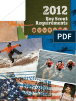 BOY SCOUT 2012requirements