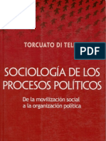 DI TELLA -Sociologia de Los Procesos Politicos