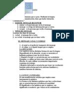 Apuntes de Lengua Castellana